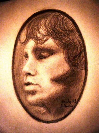 Jim Morrison by dede93130